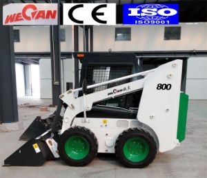 800kg Capacity Mini Skid Steer Loader