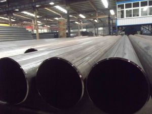 "26"" Std (660mm*9.53mm) ERW Welded Steel Pipe pictures & photos"