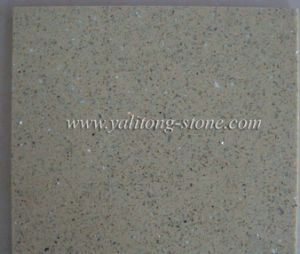 Quartz Stone / Artificial Quartz Slabs - Galaxy Gold