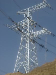 Self-Supporting Steel Lattice Tower for Overhead Transmission Lines (MGP-STT007) pictures & photos