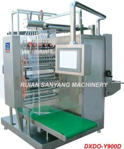 Ice Lolly 4 Side Multi-Lanes Sealing Packing Machine (DXDO-Y900E) pictures & photos