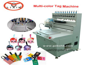 Automatic 3D PVC Keychain Keyring Making Machine pictures & photos