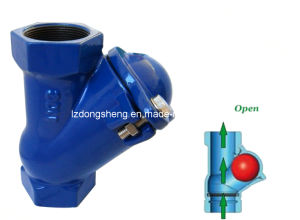 Sewage and Waste Water Check Valve Ball Type pictures & photos