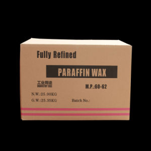 Paraffin Wax Fully Refined (60 / 62) pictures & photos