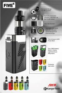 Kanger Five 6 Big Battery with 8 Ml Tank Vapor pictures & photos