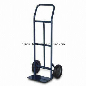 Blue Colour and Two Wheels Hand Trolley (HT2050) pictures & photos