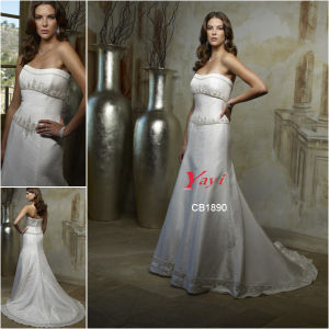 Unique Wedding Dress, Saucy Bridal Gown (CB1890)