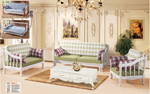 New Classic Royal Style Fabric Sofa for Living Room Furniture (162-1) pictures & photos