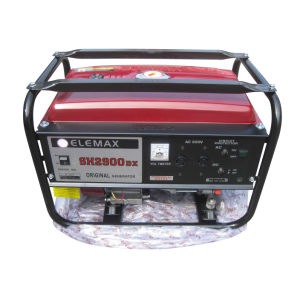 Elemax Gasoline Generator Sh2900dxe with CE and Soncap pictures & photos
