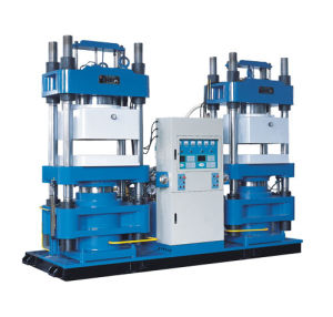 Vacuum Vulcanizing Press for Butyl Rubber Medical Stoppers (XLB-PS700 760/3500) pictures & photos