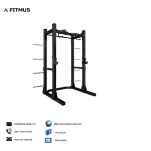 Squat Rack Weight Bench with Squat Rack Power Rack with Lat Pulldown Power Rack Cage Half Power Rack Bench Press Squat Rack Weight Lifting Power Rack pictures & photos