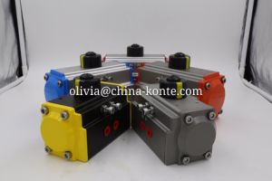 Different Seal Materials High Low Temperature Bt Series Pneumatic Actuator pictures & photos