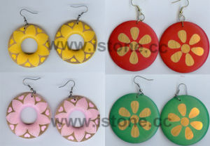 Fashion Wooden Earrings