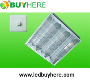 Knob Switch Dimming LED Grille Lamp With 3 PCS T8 LED Tube (BH-DD03)