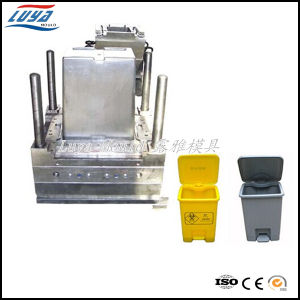 Plastic Injection Trash Can Mould