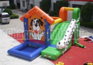 Commercial Sharpei Combo Inflatable Bouncy Castle (Chb259) pictures & photos