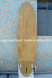 Wood Veneer Surface Stand up Paddle Board, Surfboard pictures & photos