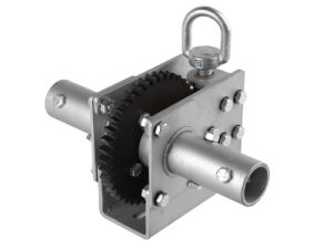 Loop-Drive Worm-Gear Hand Winch H-15pipe pictures & photos