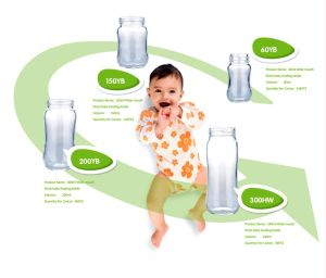 High Borosilicate Glass Baby Feeding Bottle 60ml-240ml. BPA Free pictures & photos