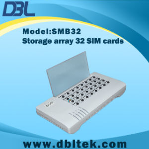 SIM Bank (SMB32) With Remote SIM Support Use With GSM VoIP Gateway GoIP SIM Card pictures & photos