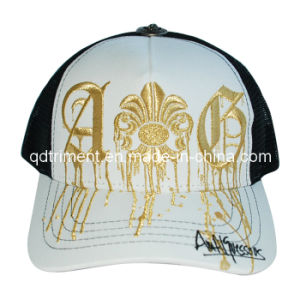 Popular Metallic Embroidery Snapback Sport Trucker Hat (TRT032) pictures & photos