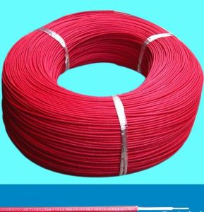 High Temperature Silicone Rubber Insulated and Fiberglass Cable pictures & photos