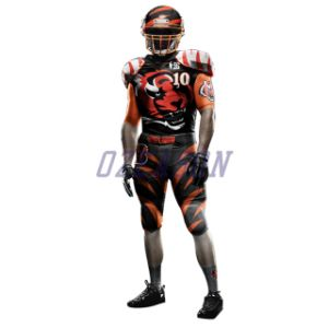 High Quality Custom Gold American Football Shirt pictures & photos