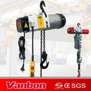 200kg-400kg Small Capacity Electric Chain Hoist 1/3 Phase pictures & photos
