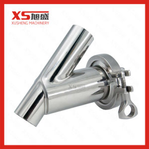 Stainless Steel Sanitary Hygienic Y Modle Milk Strainer pictures & photos