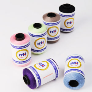 Small Cone 100% Polyester Sewing Thread pictures & photos