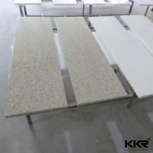Professional Factory Wholesale Non-Radiative Kitchen Pure White Quartz Countertop pictures & photos