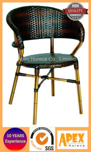 Dining Chair Cafe Furniture Bamboo Look Patio Furniture Chair pictures & photos