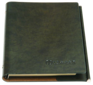 High Quality Offset Printing Customized PU Leather Notebook pictures & photos