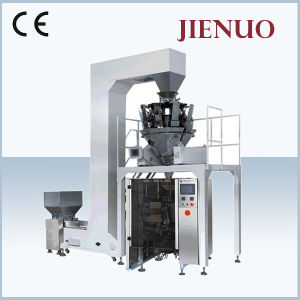 Jienuo Vffs Vertical Sugar Granule Film Roll Pouch Packing Machine pictures & photos
