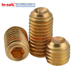 Aluminium Screws, Titanium Screws, Copper Screws pictures & photos