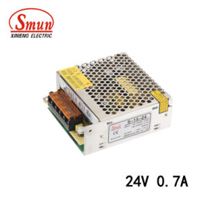 S-15-24 15W 24V 0.7A Single Output Switching Mode Power Supply pictures & photos
