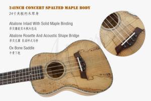 Aiersi Mini Guitar 24 Inch Concert Deadwood Ukelele pictures & photos