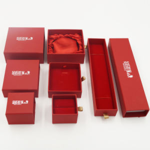 Pull-out Drawer Jewelry Gift Packaging Box (J64-E1) pictures & photos