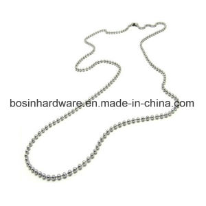 1.5mm Nickel Plated Ball Chain Neckalce pictures & photos