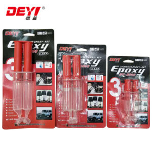 30 Minutes Clear Lateset Design Plastic Pipe Epoxy Resin Adhesive pictures & photos