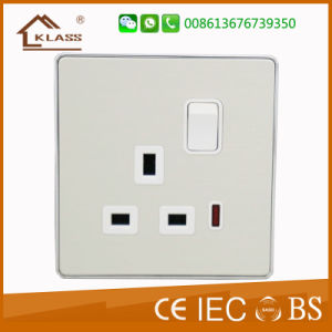 High Quality Aluminum Material Satellite Wall Socket pictures & photos