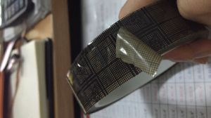 ESD Conductive Black Grid Tape for Electronic pictures & photos