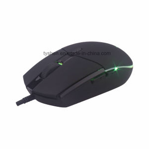New USB Gaming Mouse with 7 Color, 800/1200/1600/2400 Dpi, Spcp168A Chipset pictures & photos