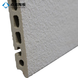 Light Grey Curtain Wall Terracotta Tile for Decoration pictures & photos