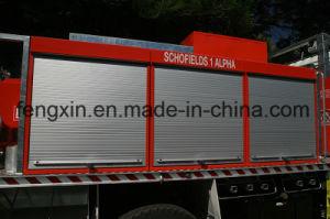 Security Aluminum Garage Roller Shutter Fire Truck Door pictures & photos