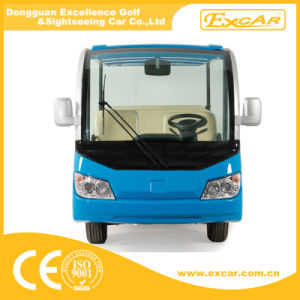 72V 11 Seater Electric Sightseeing Car for Sale pictures & photos