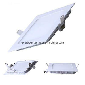 Factory Price 12W Square LED Panel Light for Lighting Decoration with CE RoHS (SP12S) pictures & photos