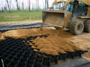 Honeycomb Gravel Stabilizer Driveway Pavers Lowes PP Geocell pictures & photos