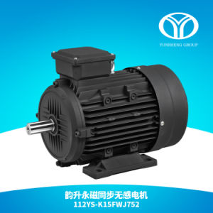 AC Permanent Magnet Synchronous Motor 5.5kw 1500rpm pictures & photos