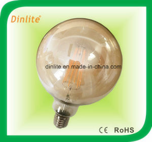 G-125 Globe Golden 4W 6W LED Bulb pictures & photos